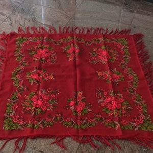 Women scarf  Russian